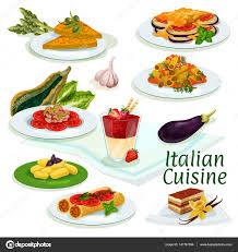 cuisine traditionnelle italienne icône de dessin animé de cuisine traditionnelle cuisine italienne