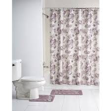 Shower Curtain At Walmart - mainstays multi color floral chelsea 15 piece polyester bath in a