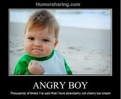 Angry Kid Meme - angry boy always remember what kind of ice cream your ac4962 3515051 jpg