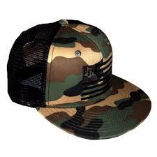 Black Flag Hat Snbi Flag Trucker Hat Flat Bill Camo Black Grey U2013 Snbi Clothing Co