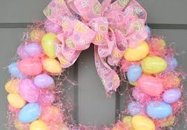easter egg wreath the diy