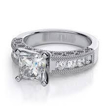 platinum princess cut engagement rings 0 40ctw vintage princess cut engagement ring in platinum