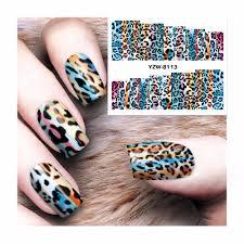 online get cheap leopard nail design aliexpress com alibaba group