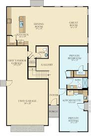 camelot new home plan in gossamer grove chateau series by lennar