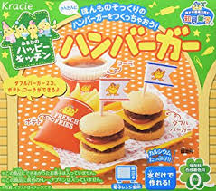 where to buy japanese candy kits hamburger popin cookin kit diy candy by kracie