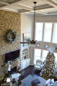 Fireplace Decorating Ideas For Your Home 30 Great Ideas For Fireplace Christmas Decorations