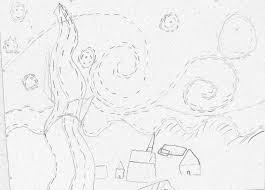 good starry night coloring page 20 for your picture coloring page