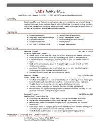 corporate resume exles trainer resume personal trainer resume sle 1 www