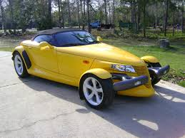 1999 plymouth prowler new muscle cars