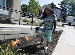 Roxbury artist Ekua Holmes plants hope in the form of sunflowers
