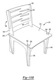 patent us20130019453 flat pack friction fit furniture system