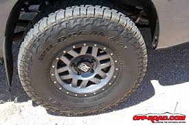 ford ranger road tyres look all falken wildpeak at 3w road tire road
