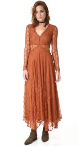 Free People Guinevere Lace Maxi Dress Shopbop Save Up To 30 Use