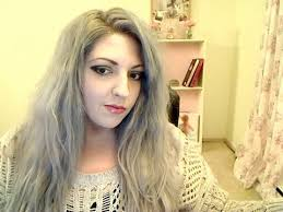 platunum hair dye over the counter how to dye your hair gray silver in one easy step youtube