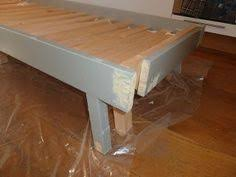 Rykene Bed Frame Materials Rykene Bed A Wood Screws Paint