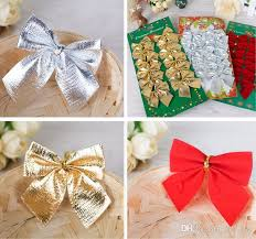 tree decoration bow articles pendant small bow ornament