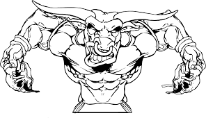 gamecock coloring pages mascot decals bulls mascot decals football bull mascot decal