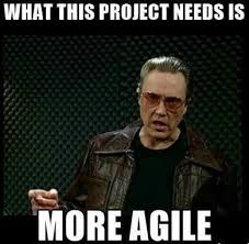 Agile Meme - more agile the understanding group