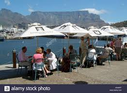 restaurant bar cafe waterfront cape town south africa tourists