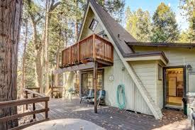a frame cabin rental near idyllwild california