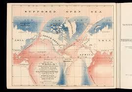 North Pole Map Section Six Maps In Arctic Exploration Books Osher Map Library