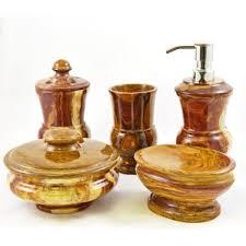 Burgundy Bathroom Accessories by Bath Accessory Sets You U0027ll Love