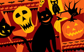 free cat halloween background pic free wallpaper free holiday wallpaper halloween episode 5