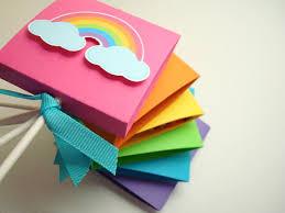 lollipop party favors bright rainbow lollipop party favors set of ten by simple tastes
