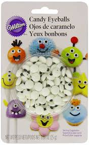 amazon com wilton candy eyeballs 0 88 oz count of 50 candy
