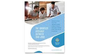 professional services flyers templates u0026 designs