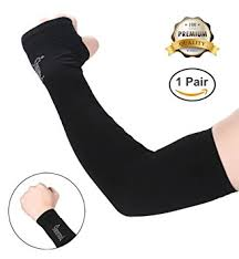 Cool Arm Sleeves - amazon com shinymod uv protection cooling arm sleeves for