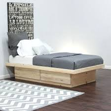 storages rustic california king size platform bed frame with