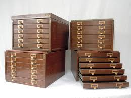antique flat file cabinet antique furniture