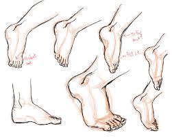 feet sketch 4 side studdy by pandora gold on deviantart