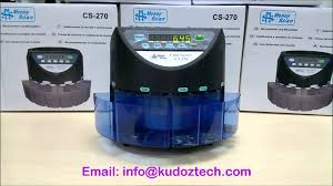 coin counter u0026 sorter cs270 by kudoz technology youtube