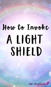 white light protection prayer to invoke a light shield