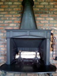 antique franklin stoves wood burning