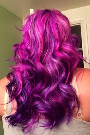 What Color To Dye Your Hair How To Dye Your Hair Purple Purple Hair Ombre And Deep Wave Hair