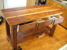 Plans For A Kitchen Island by Diy Kitchen Island Table Rigoro Us