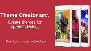 theme creator z2 create themes for xperia devices with theme creator beta youtube