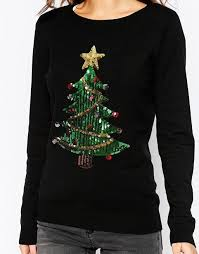 christmas tree jumper with lights fashion union fashion union sequin christmas tree jumper