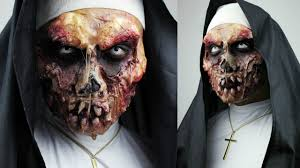 Scary Zombie Halloween Makeup by Zombie Nun With Sfx Gelatin Makeup Tutorial 31 Days Of Halloween
