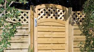 garden fencing and gates for home ideas youtube