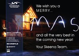 merry and all the best in the new year skeena heli skiing