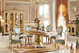 Champagne Dining Room Furniture Luxury Dining Room Chairs European Style Refined Wood Carved