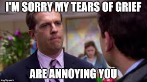Vet Tech Memes - when the vet tech asks you to stop crying while waiting to put