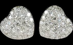 big stud earrings diamonds beautiful ruby jewelry pictures beautiful diamond heart