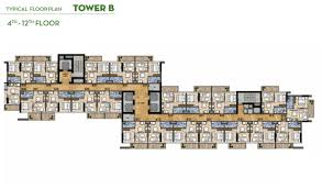 typical floor plan golf vita apartments at damac hills floor plan details layout plan