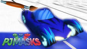 pj masks cat car gekko mobile owl glider coloring pages book