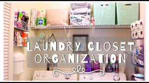 Organize My Closet by How I Organize My Small Laundry Closet Tips Tricks U0026 Hacks
